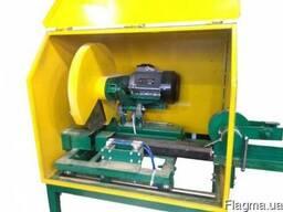 Торцовочный станок для резки топливных брикетов ЦПА-63 (Pini