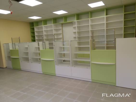 Торговая мебель для аптек Киев
