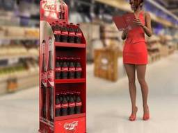 Торговая стойка Кока Кола. От производителя торгового. ..