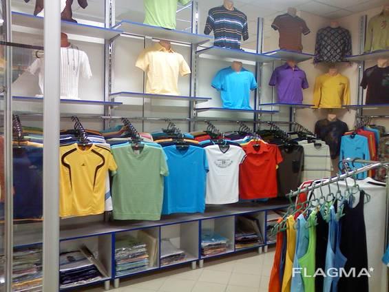Торгове обладнання для магазинів одягу