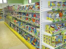Торговое оборудование для детских магазинов
