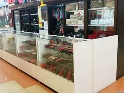Торговое оборудование для кожгалантереи, сувенирной продукци