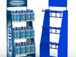 Торговое оборудование для магазина «Philips»
