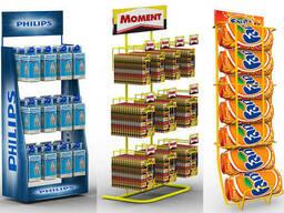 Рекламные стойки и конструкции