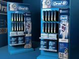 Торговое оборудование стойки Oral-b для зубных щеток - photo 3