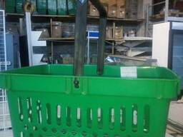 Торговое оборудование, витрина покупательская корзина бу