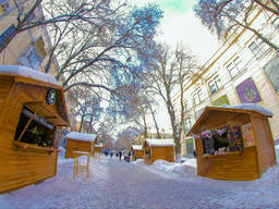 Торговый павильон, киоск, рождественский ларёк 3,0х2,5