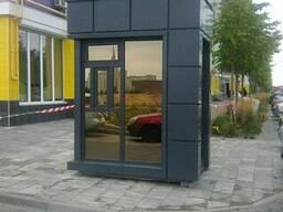 Торговый павильон с фасадом из алюминиевого композита - фото 8