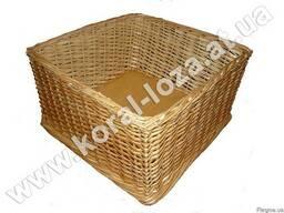 Торговый плетеный лоток из лозы для печенья-34