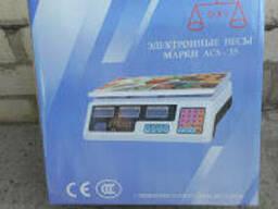 Торговые Электронные Весы Марки ACS - 35 OXI без стойки