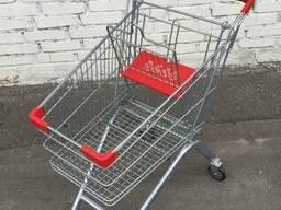 Торговые Покупательские тележки 80 л новые есть складе Киев