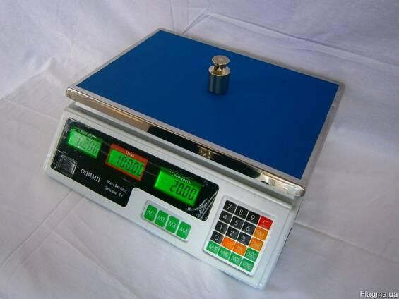 Торговые весы ACS-A9 Олимп 40 кг