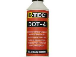 Тормозная жидкость E-TEC DOT-4