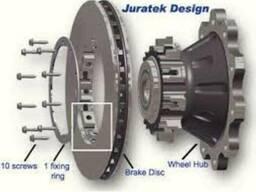 Тормозні колодки та тормозні диски Даф Daf xf95- 105.