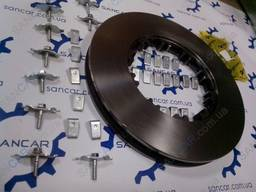 Тормозной диск DAF ДАФ XF 95, XF 105, CF 85, CF 75, CF 65
