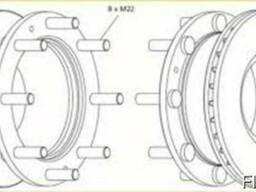 Тормозной диск Ивеко Еврокарго, Iveco Evrocargo.Новый.