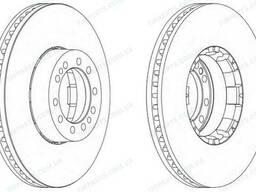 Тормозной диск Renault Magnum / Premium (5010422593 |. ..