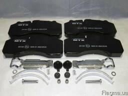 Тормозные колодки Мерседес Aктрос DAF XF95 0014212410