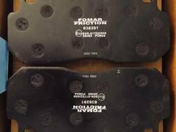 Тормозные колодки рено магнум, wva 29090