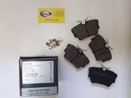 Тормозные колодки, задние Fiat, Nissan, Opel, Renault - LPR