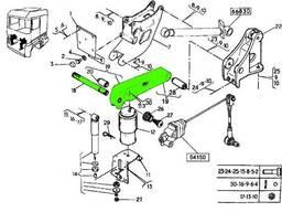 Торсион стабилизатор кабины Рено Магнум 430/440/470/480: