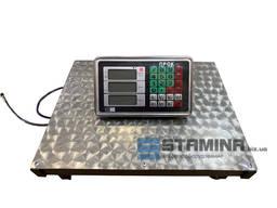 Товарные весы Stamina на 300 кг с нержавеющей платформой 400