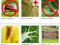 Товары для сада и огорода (удобрения, защита растений)