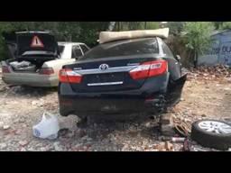 Toyota Camry 50 2012 запчасти б. у.