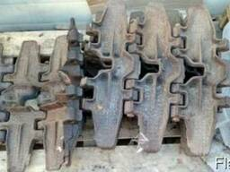 Траки, звенья для трактора/бульдозера ДТ-75 болотохода