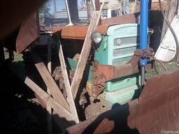 Трактор ДТ-75 бульдозер