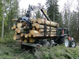 Тракторные лесные тележки, прицепы HYPRO HV14 - фото 2