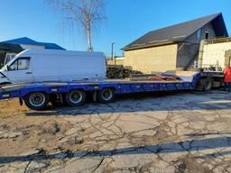 Трал 25 тонн, 12, 6 м. для перевезення габариту та негабариту