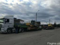 Трал аренда черновцы негабарит низкорамный перевозка спец