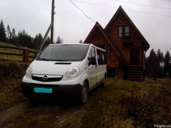 Перевезення 8-ми місним мікроавтобусом до Карпат