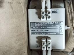 Трансформатор напряжения ОСМ 0. 1 380/220 и 380/24