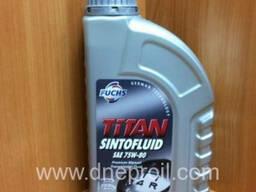 Трансмиссионное масло FUCHS TITAN Syntofluid 75w-80 1л.