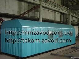 Транспортабельная котельная установка ТКУ-0,7 Г (газ, пар)