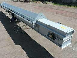 Транспортер конвейер скребковый подбункерный