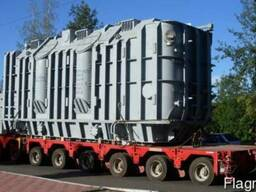 Транспортировка крупногабаритных трансформаторов