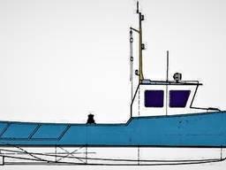 Транспортно-промысловый бот WB870