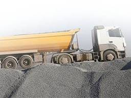 Транспортные услуги по перевозке сыпучих материалов