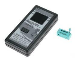 Транзистор тестер универсальный для проверки транзисторов, конденсаторов, радиодеталей. ..