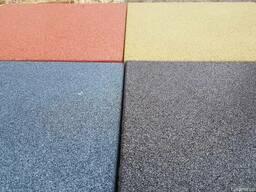 Травмобезопасная плитка резиновое покрытие для площадок