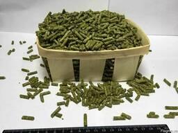 Травяная мука гранулированная из люцерны