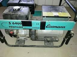 Трехфазная бензиновая электростанция Eisemann S6400