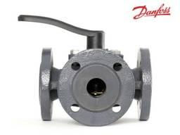 Трехходовой клапан Danfoss DN 65, DN80 электропривод