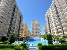 Трехкомнатная квартира Турция , Махмутлар, резиденция Toros
