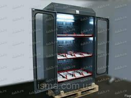 Трехъярусный шкаф для заряда аккумуляторов без ЗУ