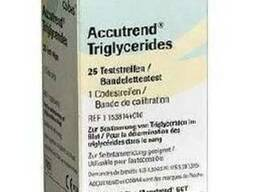 Триглицериды №25 тест-полоски к Аккутренд Плюс - фото 1