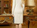 Трикотажное красивое женское платье 44-50 , доставка по. .. - фото 3